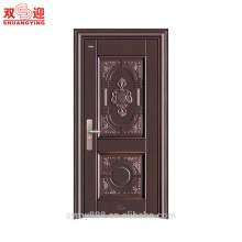 New design galvanized steel door skin panel main door steel security door