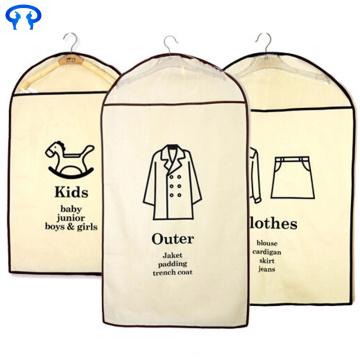 Foldable non-woven garment bags