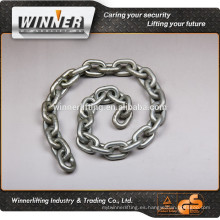 ASTM80 Grade30 prueba de la bobina de la cadena de tiro de la cadena de cadenas para neumáticos