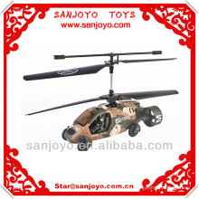 K027 5 channel R/C roadable helicopter with Gyro