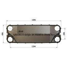 Austausch von Wärmetauscherplatten und -dichtungen von M15b/M15m