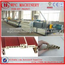 Производственная линия WPC-ПВХ и древесный композитный настил WPC, дверная рама, производственная линия оконных профилей