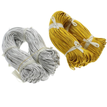 Custom gold metallic elastic cord wholesale