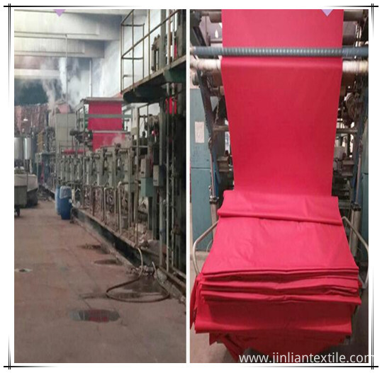 fabric in dyeing