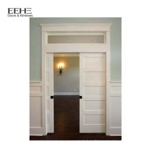 Porte en bois intérieure PVC pas cher pour salle de bain
