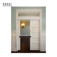 Дешевые ПВХ межкомнатные деревянные двери для ванной комнаты