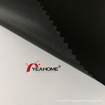 Tissu de couverture automatique de tissu d'Oxford de polyester de revêtement d'unité centrale de couleur noire