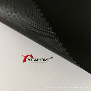 Black Color PU Coating Polyester Oxford Fabric Auto Cover Fabric