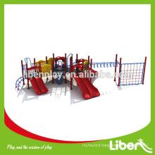 Climbing Net Structure Children Amusement Park Outdoor Playground Equipment in China