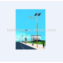 Acero Q235 galvanizado postes de alumbrado público