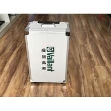 Producción profesional de maletas con ruedas de aleación de aluminio
