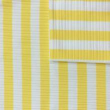 TC Cotton Polyester Brushed Rib Striped Spandex Fabrics