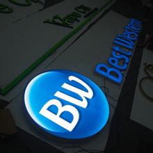 Outdoor Led Business Sign Channel Letter