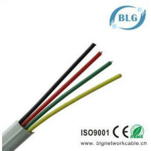 Hot sales flat 4 cores RJ11 shielded telephone cable