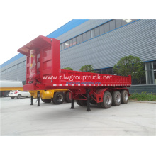 3 axle rear dump trailer hydraulic tipping trailer