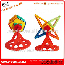 Segurança Magnetic Buliding Brinquedos