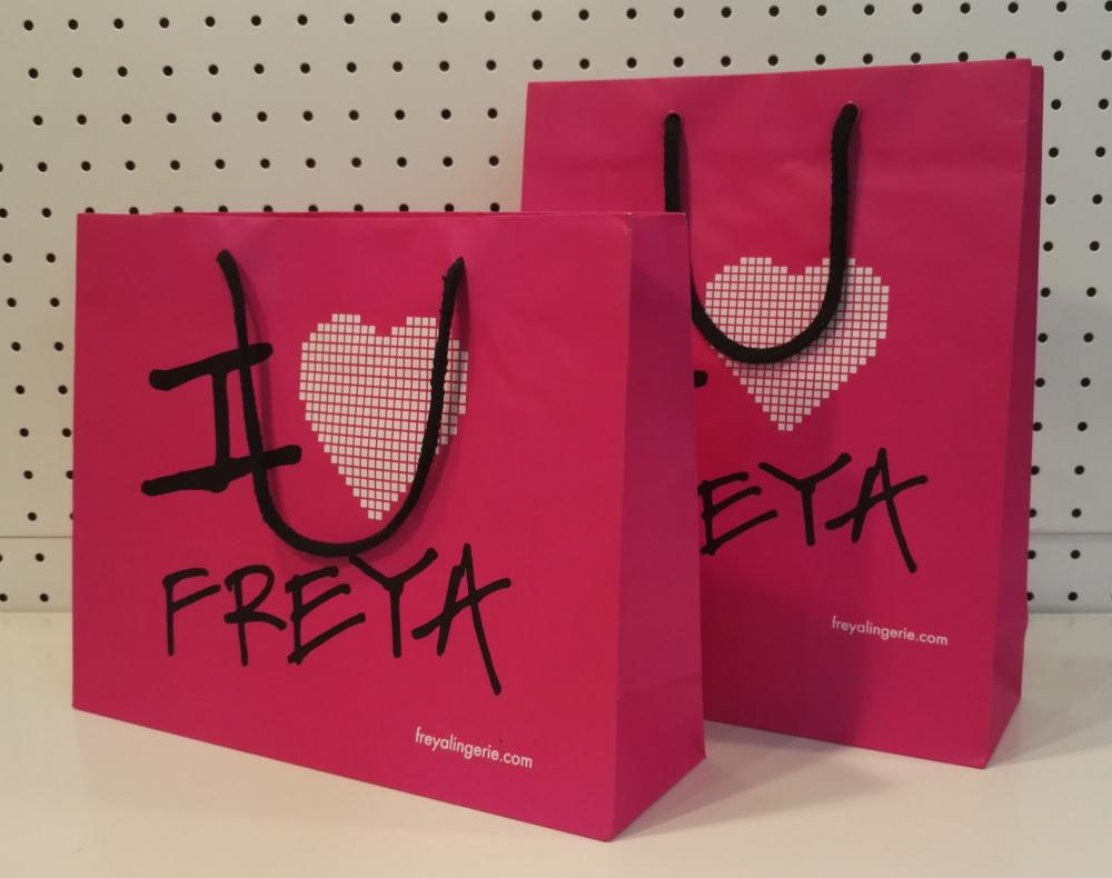 Pink Paper Bags Wholesale