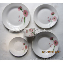 Excelentes calcomanías de porcelana de porcelana fina china establece