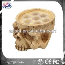 Высокое качество novetly татуировки аксессуар пластиковые держатели чашки держатель черепа скелета