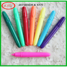 Colored pen body fiber tip chalk marker for advertising