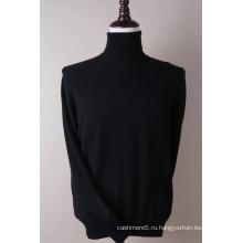 Мужская Черепаха шеи Кашемировый пуловер