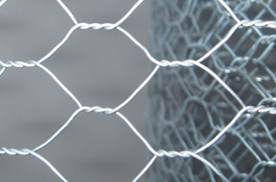 Galvanized Rabbit Hexagonal Wire Mesh