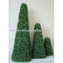 Planta de grama artificial para decoração de jardim