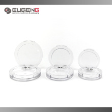 Various size of plastic clear powder case