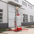 Escada vertical de elevação de trabalho aéreo de 5 metros