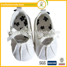 2015 New design high quality hand canvas Baby shoe bebe shoes