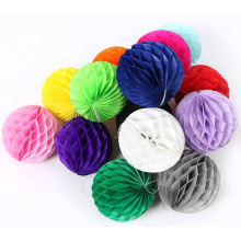 OEM Colorful Ball Paper Garland for Hang Decoration