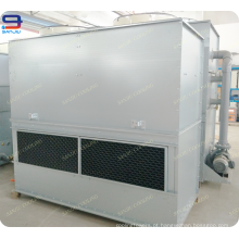 Torre refrigerando molhada do fluxo GTM-2 do contador do circuito fechado de 10 toneladas Superdyma para o compressor refrigerando de GSHP