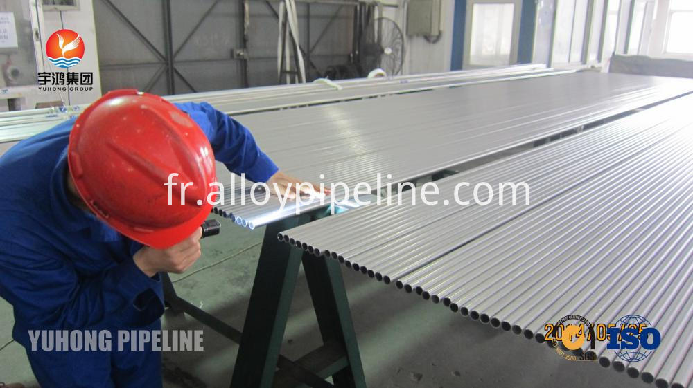 Bright Annealed Stainless Steel Tubing ASTM A213 TP304L for condenser