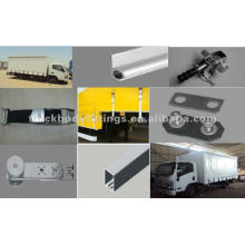Curtain sider truck parts