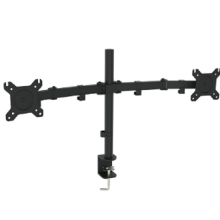 Dual Adjustable Computer Screen Arm Bracket Monitor Arm