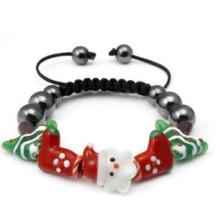 Jóias de natal / natal pulseira / natal pai (xbl13141)