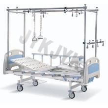 Cama de hospital - cama de cuidado manual ortopópica (tratamiento doble)