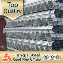 GI round steel tube GALVANIZED Manufacturer top quality