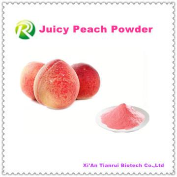 Hohes Qualtiy 100% natürliches saftiges Pfirsich-Pulver Minimaler Auftrag 1kg