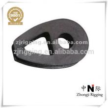 Dedal de cable maleable de hierro dúctil profesional con DIN 3091