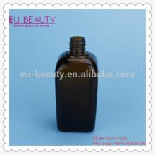 Botella cuentagotas de vidrio cuadrado con 15ml 30ml