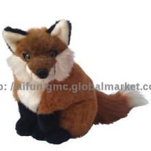 Life-like Fox toys, Plush soft toy lowrie