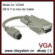 Câble db9 à mini-din