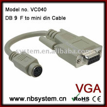 db9 to mini din cable