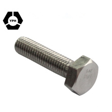 DIN933 Class5.8 Full Thread Hex Head Bolt China Factory