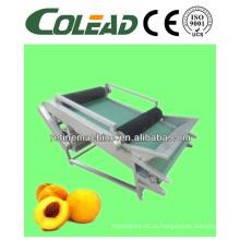 Máquina automática de procesamiento de melocotón / máquina de corte de melocotón