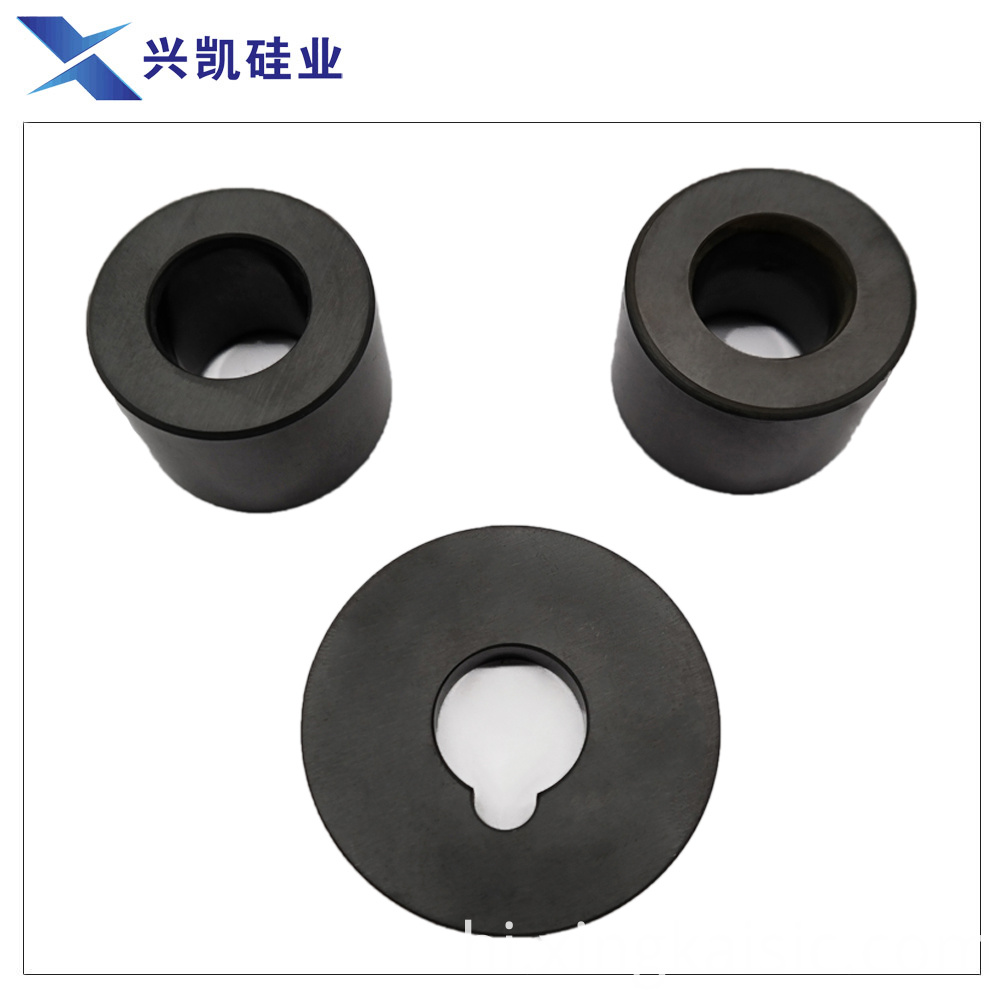 Ceramic bearing and shaft sleeve