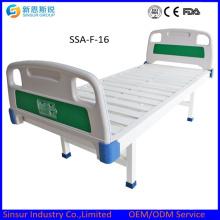 Китай Снабжение Цена ABS Head / Footboard Нержавеющая сталь плоская медицинская кровать