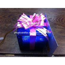 Navidad caja ligera, caja de regalo LED, caja de regalo reflexivo