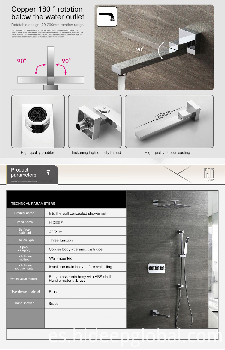 Shower Faucet Thermostatic